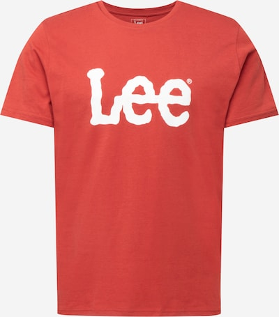 Lee Shirt in rot: Frontalansicht