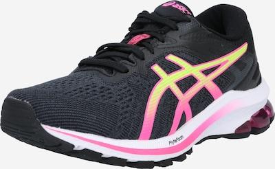 ASICS Zapatillas de running 'GT-1000 10' en amarillo / rosa / negro, Vista del producto