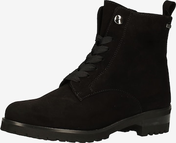 PETER KAISER Lace-Up Ankle Boots in Black
