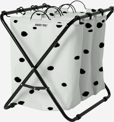 ABOUT YOU Wäschekorb 'Homie (3bags)' in hellgrau, Produktansicht