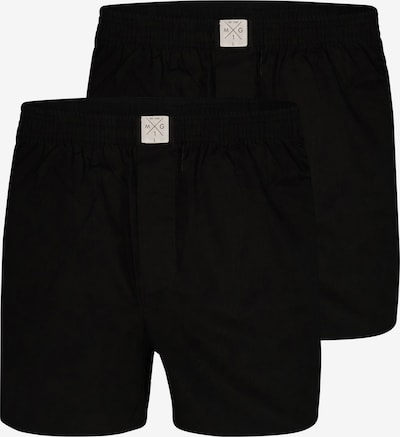 MG-1 Boxer shorts ' 2-Pack Single Colour Black' in Black, Item view