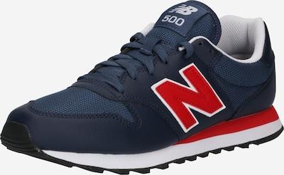 new balance Sneaker '500' in dunkelblau / dunkelrot, Produktansicht