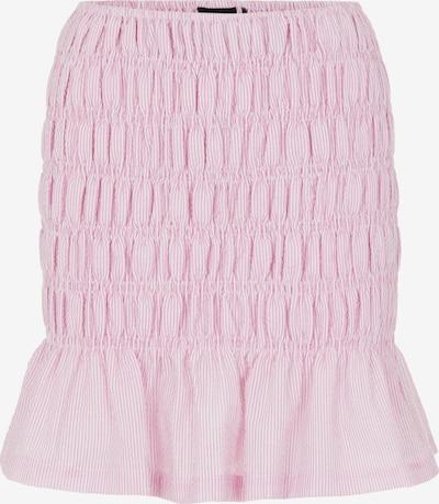 PIECES Nederdel 'Sunshine' i pink-meleret / hvid, Produktvisning