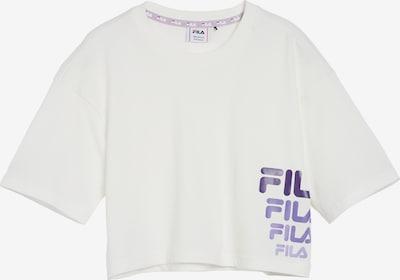 FILA T-Shirt 'Polly' in rauchblau / hellblau / weiß, Produktansicht