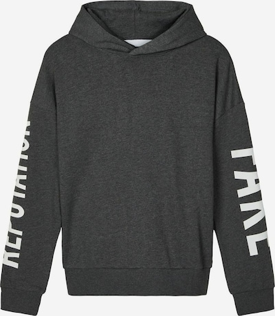 NAME IT Print Sweatshirt in grau, Produktansicht