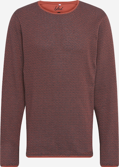 bleed clothing Pullover in dunkelgrau / melone, Produktansicht
