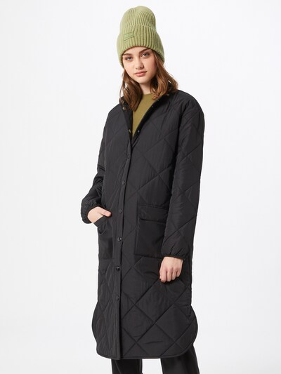 MOSS COPENHAGEN Mantel 'Ranya Deya' in schwarz, Modelansicht
