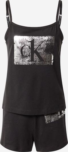 Pižaminiai šortukai iš Calvin Klein Underwear , spalva - juoda / Sidabras, Prekių apžvalga