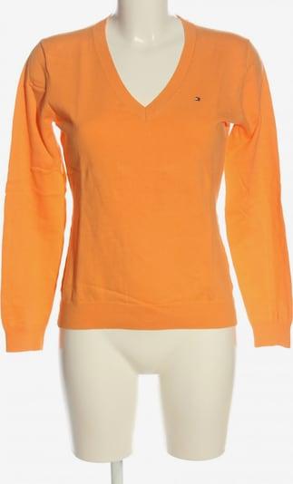 TOMMY HILFIGER Langarm-Bluse in M in hellorange, Produktansicht