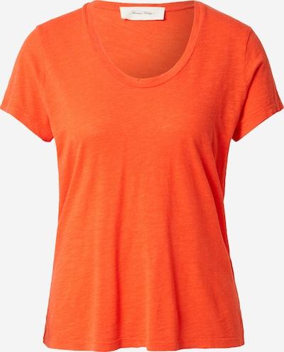 AMERICAN VINTAGE Shirt 'Jacksonville' in orange, Produktansicht