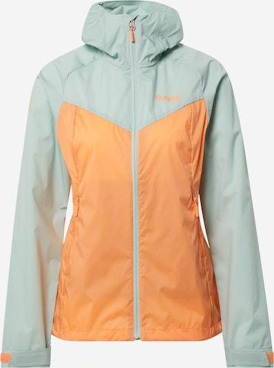 Bergans Sportjacke in mint / orange, Produktansicht
