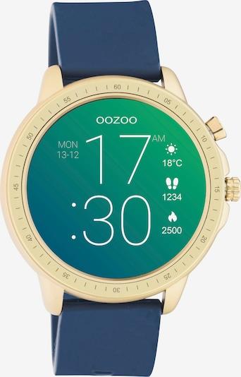 OOZOO Smartwatch in navy / gold, Produktansicht