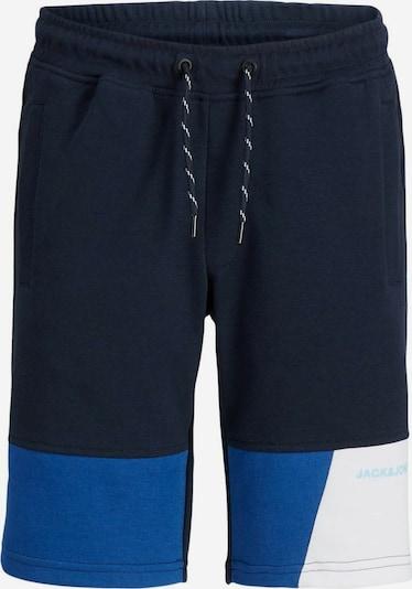 Jack & Jones Junior Nohavice 'Mars' - nebesky modrá / tmavomodrá / biela, Produkt