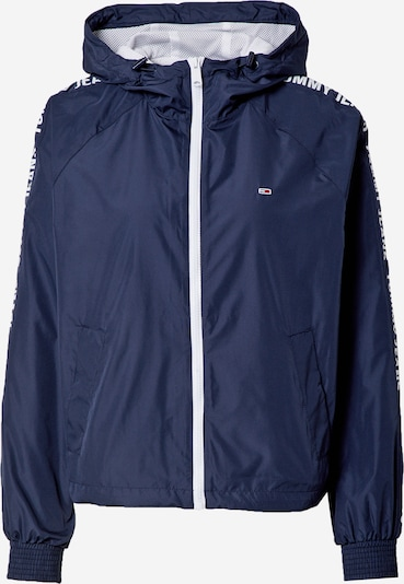 Tommy Jeans Jacke in navy / weiß, Produktansicht