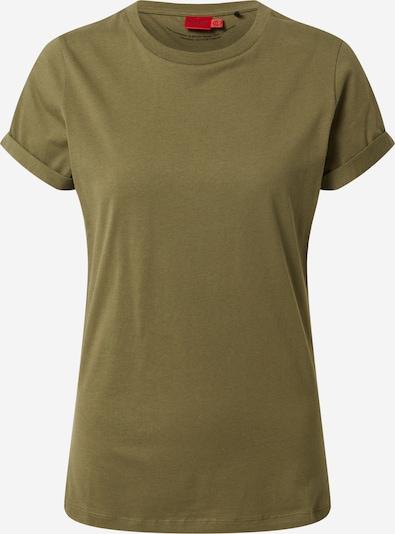 HUGO T-Shirt in khaki, Produktansicht