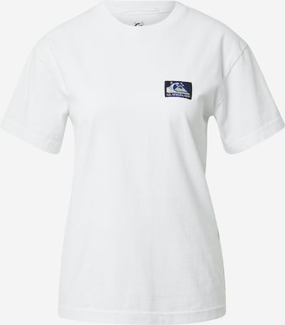 QUIKSILVER Shirt in de kleur Blauw / Zwart / Zilver / Wit, Productweergave