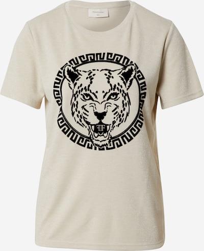 Freequent Shirt 'BLANCA' in beige / schwarz, Produktansicht