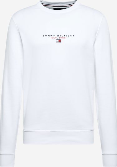 TOMMY HILFIGER Sweatshirt in Navy / Red / White: Frontal view