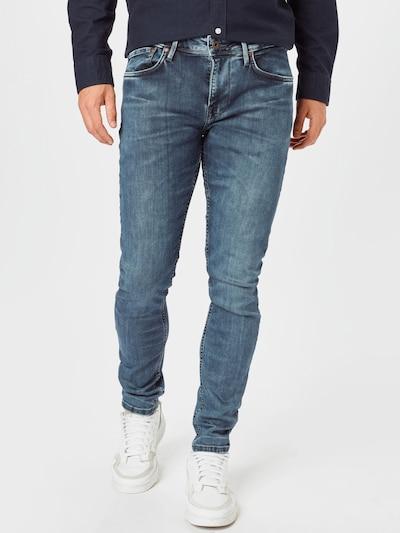 Pepe Jeans Jeans 'FINSBURY' i blue denim, Modelvisning
