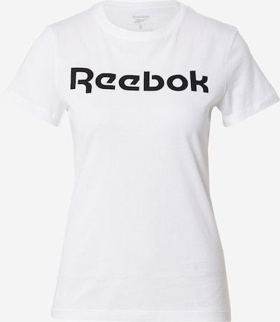 REEBOK T-Shirt in schwarz / weiß, Produktansicht