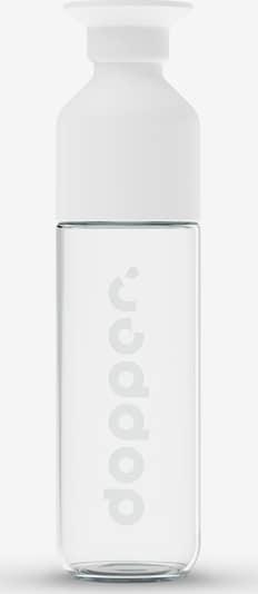 Dopper Glass ' 450ml ' in transparent / weiß, Produktansicht