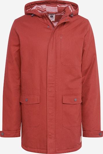 bleed clothing Parka 'Guerilla' in rot, Produktansicht
