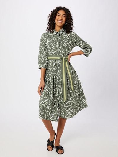LIEBLINGSSTÜCK Kleid 'Riala' in grün / weiß, Modelansicht