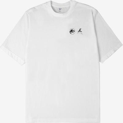 Reebok Sport Funktionsshirt in gelb / schwarz / weiß, Produktansicht