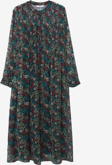 MANGO Kleid 'Aire' in blau / hellrot / schwarz, Produktansicht
