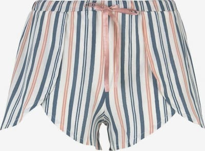 TOM TAILOR Pyjama in dunkelblau / rosa / weiß, Produktansicht