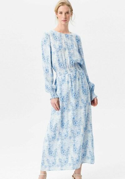 Uta Raasch Maxi-Kleid langarm in weiß, Modelansicht