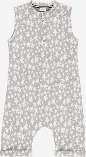 Turtledove London Overall in de kleur Grijs / Wit, Productweergave