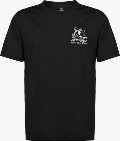 CONVERSE T-Shirt 'Fish Fry Shop' in schwarz, Produktansicht