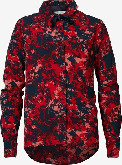 Petrol Industries Blouse in de kleur Rood / Vuurrood / Zwart, Productweergave