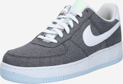 Sportbačiai be auliuko 'Force 1 '07' iš Nike Sportswear , spalva - pilka / balta, Prekių apžvalga