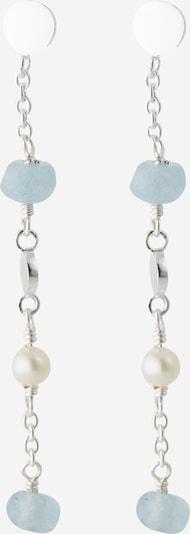 Pernille Corydon Jewellery Pendientes 'Afterglow Sea' en azul claro / plata / blanco, Vista del producto