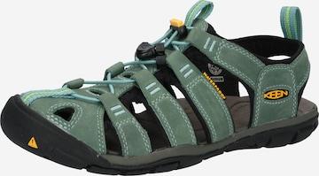 KEEN Sandaal 'Clearwater CNX', värv roheline