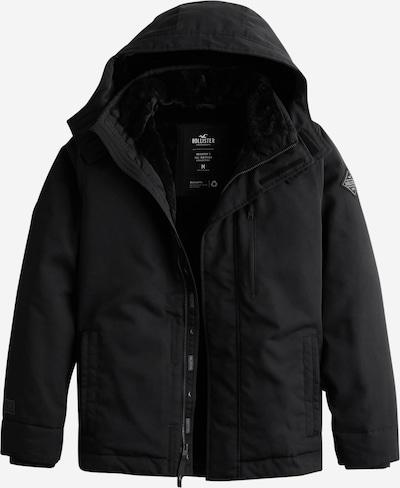 HOLLISTER Zimska jakna u crna, Pregled proizvoda