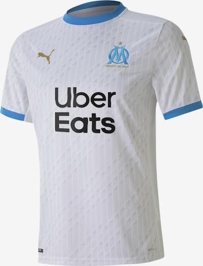 PUMA Trikot 'Olympique de Marseille' in hellblau / schwarz / weiß, Produktansicht