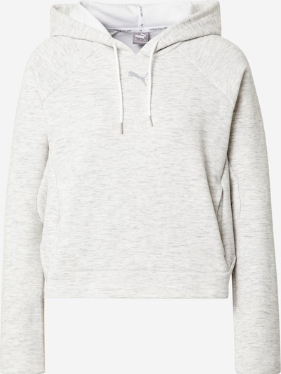 PUMA Sportsweatshirt in weißmeliert, Produktansicht