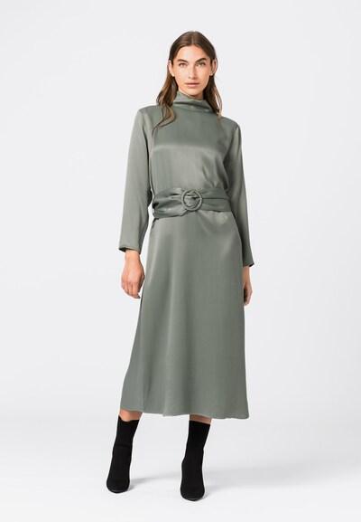 HALLHUBER Kleid in rauchgrau, Modelansicht