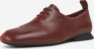 CAMPER Lace-Up Shoes 'Twins' in Blood red / Burgundy, Item view