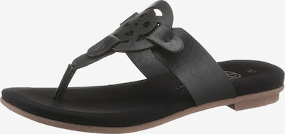 bugatti Sandale in schwarz, Produktansicht