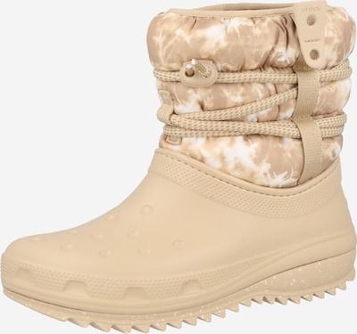 Crocs Snowboots in beige / hellbeige, Produktansicht