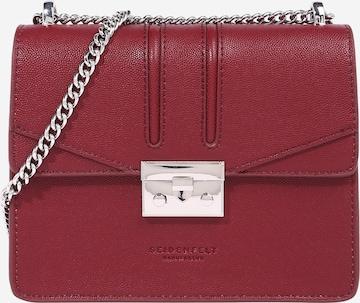 Seidenfelt Manufaktur Tasche 'ROROS' in Rot