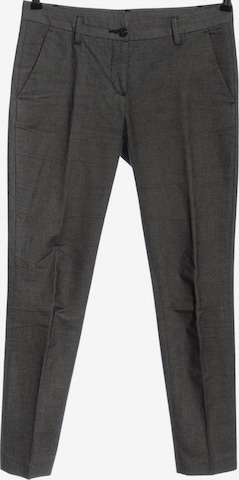 UNITED COLORS OF BENETTON Stoffhose in L in Grau