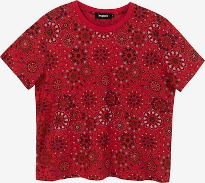 Desigual Shirt 'LYON' in de kleur Grijs / Rosa / Rood / Zwart, Productweergave