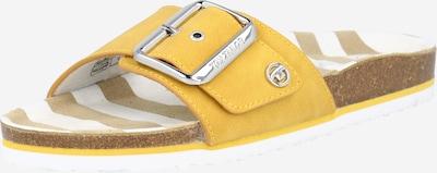 TOM TAILOR Чехли в жълто, Преглед на продукта