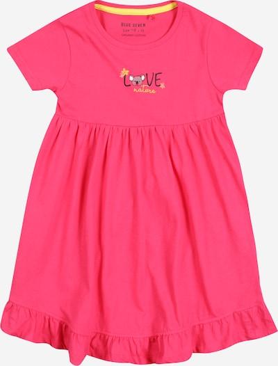 BLUE SEVEN Kleid in gelb / grau / pink / schwarz, Produktansicht