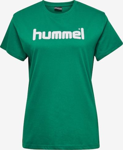 Hummel Functioneel shirt in de kleur Groen / Wit, Productweergave